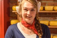 Amsterdam Cheese Girl
